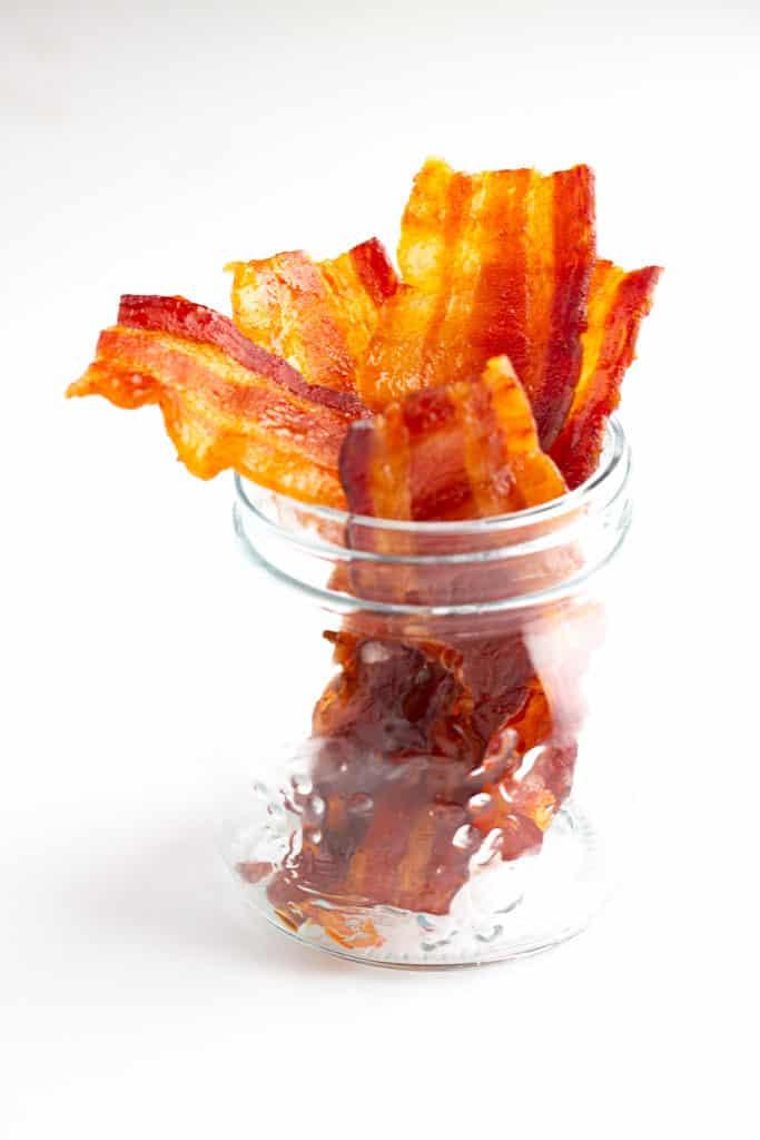 Bacon Jerky in a Mason Jar